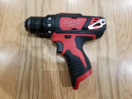 Milwaukee 2407-20 M12 12V Cordless 3/8 in. Drill/Driver Tool Only - $55.00