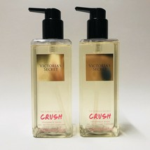 2 Victoria's Secret Crush Fragrance Body Wash Gel 8.4 fl.oz 250 ml New F... - $39.55