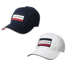 Tommy Hilfiger Men's Branding Logo Patch Hat Strap Back Baseball Cap 6941828