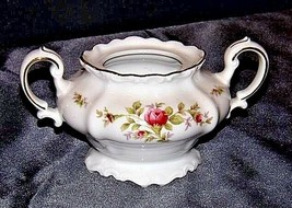 Bavarian German China Set of Johann Haviland (No.48 Sugar Dish) AB 55-K Vintage