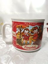 2000 Campbell Soup Harvest Seasons Mug Cup Autumn Winter Comfort Food Fall  image 3