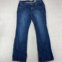 No Boundaries Bootcut Jeans Juniors 15A Average Blue Mid Rise Dark Stone... - $18.95