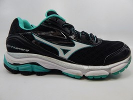 Mizuno Wave Inspire 12 Size 8 M (B) EU 38.5 Women's Running Shoes Black Green
