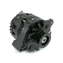 A-Team Performance GM CS130 Style 160 Amp Alternator, All Black