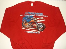 "American Choppers Sweatshirt~RED~Men's XL~""A Tradition Since 1940""~FREE Shipping - $20.90"