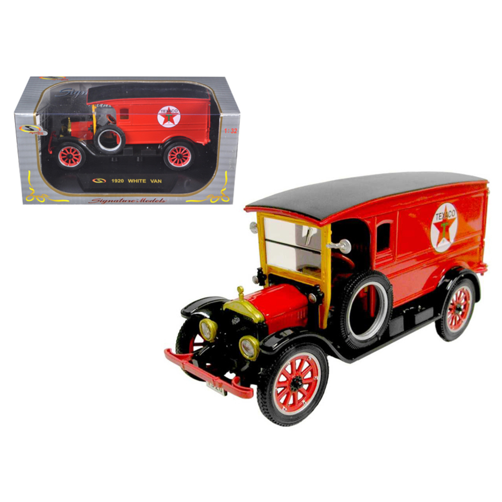 1920 White Delivery Van Texaco Red 1/32 Diecast Car Model by Signature Models 32