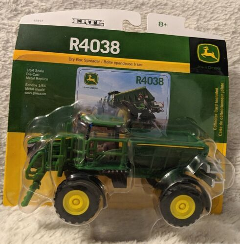 John Deere LP53308 ERTL R4038 Dry Box Spreader Die-Cast Metal Replica