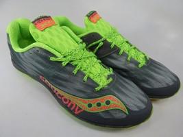 Saucony Kilkenny XC5 Spikeless Size 8 M (B) EU 39 Women's Flat Track Shoes Gray