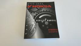 2002 - 2003  Honda VFR800/A Interceptor Service Shop Repair Book Manual Used OEM - $43.16