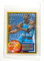 1996-97 Fleer NBA All Star #294 Anfernee Hardaway Orlando Magic Insert Card - $0.98
