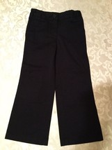 Girls- Size 4 Slim- Izod pants/uniform - blue - $9.90
