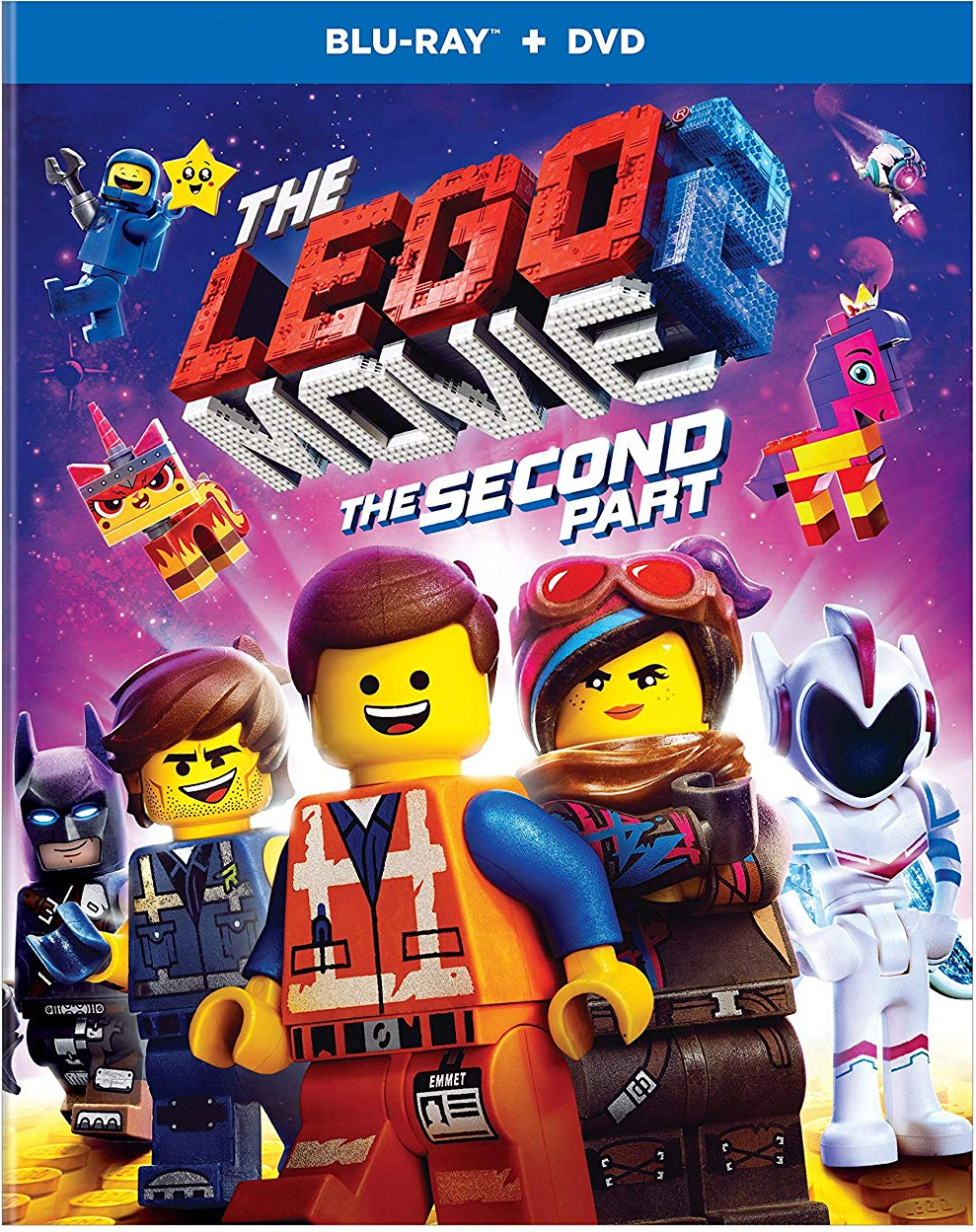LEGO Movie 2: The Second Part [Blu-ray + DVD]