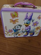 Daisy & Minnie Lunch Tin Box made in China Excellent Condition  image 6