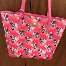 D23 Expo 2015 Japan Samantha Vega Minnie Heart totebag shoulder with Pou... - $254.43