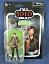 Star Wars Vintage Collection Han Solo Young Solo Hasbro Kenner Disney NEW - $14.80