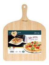 Wooden Pizza Paddle Peel Bakers Lifter Oven Wood Serving Board Tray Tabl... - €10,65 EUR