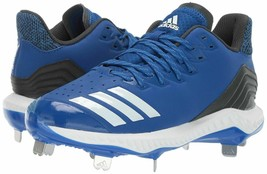 adidas Men's Icon Bounce Baseball Cleats Collegiate Royal/White/Carbon New - $64.99