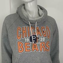 NFL Nike Chicago Bears Hoodie Sweatshirt Womens Medium Gray Long Sleeve  - $24.99