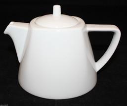 Bauscher Weiden Germany Bavaria White Porcelain Small Tea Pot 12oz 1.5 Cups - $48.48