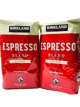 Kirkland Espresso Dark Roast Coffee 2 Lb (2 Pack) 4 Lbs - $37.57