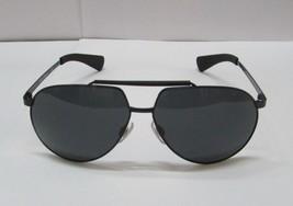 Dolce & Gabbana Sunglasses Pilot DG2152 01/87 62mm Black Frame / Grey Le... - $99.99