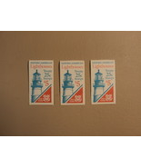 USPS Scott 2470-74 25c Lighthouse 3 Books 1990 60 Stamps Mint Booklet - $65.91