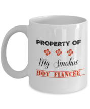 Smokin' Hot Fiancee Mug, Gift For Her, 11oz White Ceramic Coffee, Tea Cup - ₹1,055.53 INR