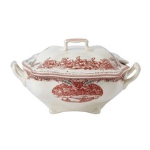 Johnson Brothers Twas The Night Before Christmas Soup Tureen Covered Bowl Nib - $128.69
