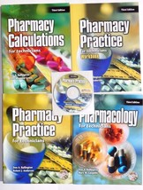 Pharmacy Practice For Technicians Pharmacology Third Edition Book & CD - $92.22