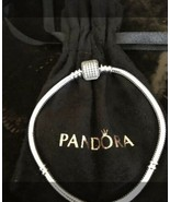 Authentic Pandora CZ Signature Bracelet,590723CZ - $84.15