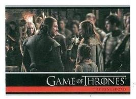 Game of Thrones trading card #06 2012 Lord Ned Stark Sansa Stark - $4.00