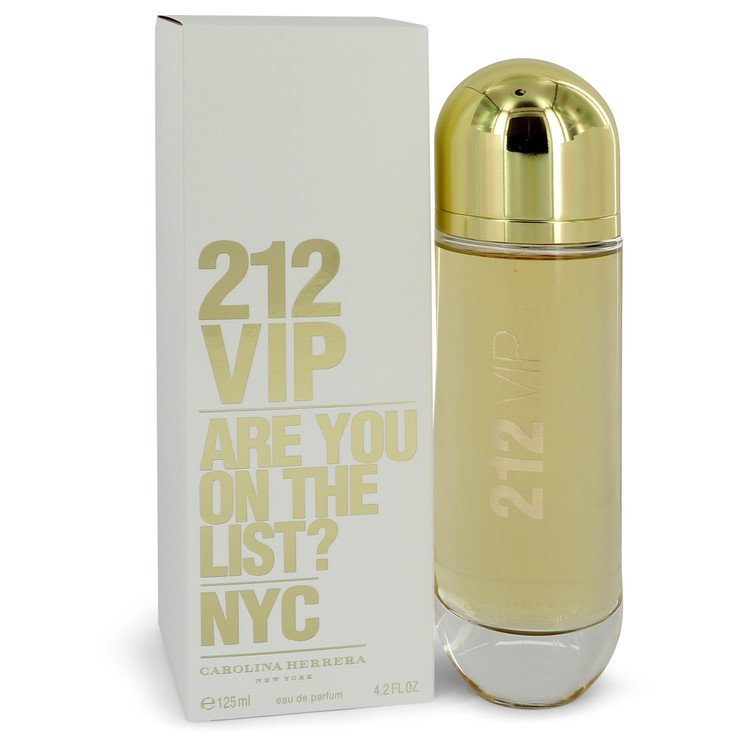 Carolina Herrera 212 VIP 4.2 Oz Eau De Parfum Spray