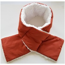 Women's Soft Sherpa Lined Pull Through Puffy Scarf - $19.99