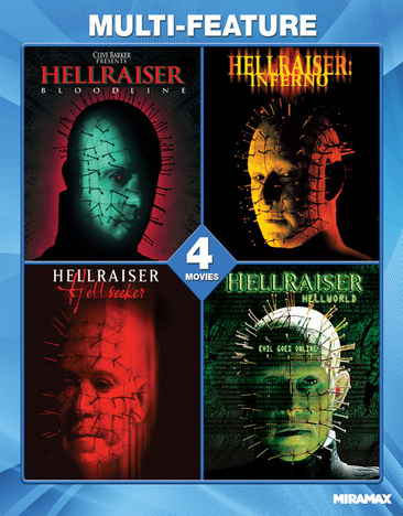 Hellraiser Collection 4 Film Set (Blu Ray) (Ws/Eng/Eng Sdh/5.1 Dts-Hd)