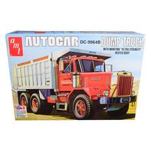 Skill 3 Model Kit Autocar DC-9964B Dump Truck 1/25 Scale Model by AMT AM... - $51.99