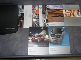 2009 MERCEDES BENZ GLK G L K MODELS Owners Manual SET KIT W CASE - $108.00