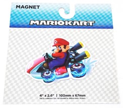 "Mario Kart 4"" X 2.6"" Magnet Toy Official Nintendo Super Mario Game Series 2017 - $6.54"