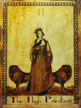 The High Priestess Tarot Card Metal Sign - $29.95