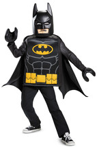 Disguise Batman Lego Movie Classic Costume, Black, Large (10-12) - £45.65 GBP