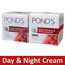 Pond's Age Miracle Day Cream + Night Cream Retinol-C Wrinkle Corrector 10g - $7.14