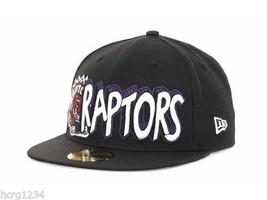 Toronto Raptors New Era 59Fifty NBA Basketball HWC Fitted Cap Hat 7 1/2 - $22.75