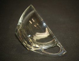 """Old Vintage Triangle Clear by Anchor Hocking Snack Plate Cup 2-1/4"""" Mid-... - $8.90"""