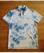 Ralph Lauren Polo Men's Tie Dye Size Small Polo Shirt Custom Slim Fit  ... - $78.20