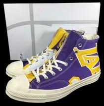 Converse LA Lakers Los Angeles Gameday Jersey Sneaker Chuck 70 187/250 (11 MEN) - $150.00