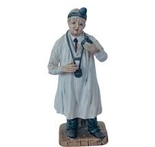 Doctor Figurine Kelvins Japan ceramic stethoscope Nurse gift sculpture v... - $38.65