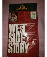 West Side Story VHS VCR Video Tape Movie Natalie Wood Used - $5.93