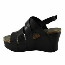 Pierre Dumas Hester-19 Black Women's Strappy Platform Wedge Sandal 22629 - $44.95