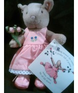 "Sylvia Long's Mother Goose~The Rosie Doll"" A 6.5"" Pirouetting Plush Bunny - $6.99"