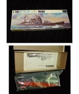 Takao Japan Heavy Cruiser Battleship Model Kit Mini Craft Water Line Series - $20.00