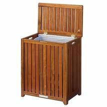 Oceanstar Solid Wood Spa Laundry Hamper - $86.57